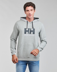 Kleidung Herren Sweatshirts Helly Hansen HH LOGO HOODIE Grau