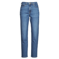Kleidung Damen Boyfriend Jeans Lee CAROL Blau