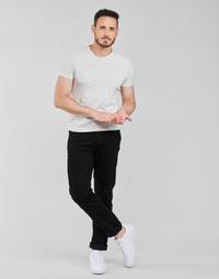 Kleidung Herren Straight Leg Jeans Lee BROOKLYN STRAIGHT Schwarz