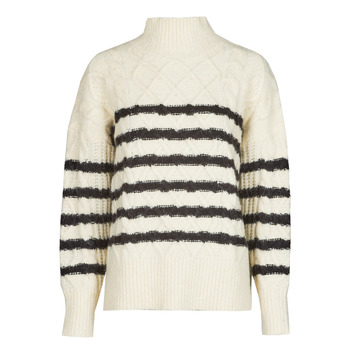 Kleidung Damen Pullover Betty London PARADE Naturfarben / Marine