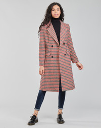 Kleidung Damen Mäntel Betty London PIVENE Schwarz / Rot