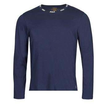 Kleidung Herren Langarmshirts Polo Ralph Lauren CREEW SLEEP TOP Marine