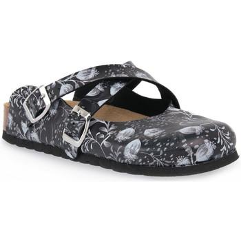 Schuhe Damen Pantoletten / Clogs Bioline NERO IBIS Nero