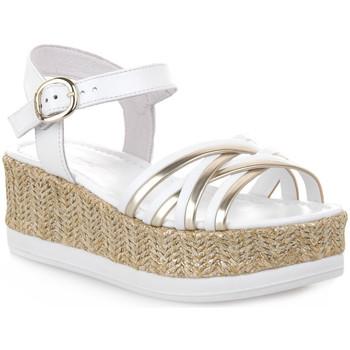 Schuhe Damen Sandalen / Sandaletten NeroGiardini NERO GIARDINI  707 LOIRA BIANCO Bianco