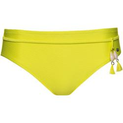 Kleidung Damen Bikini Ober- und Unterteile Lisca Badeanzugshose mit hoher Taille Ibiza Khaki