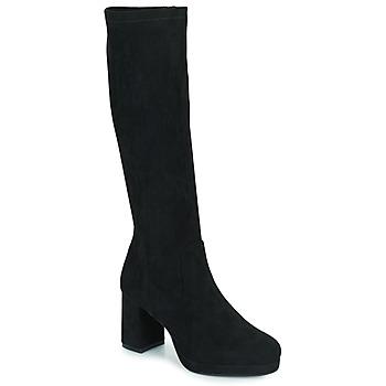 Schuhe Damen Klassische Stiefel Moony Mood PENILA Schwarz