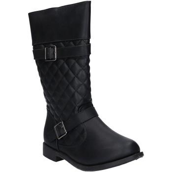 Schuhe Mädchen Klassische Stiefel Urban B089540-B4600 Negro