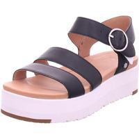 Schuhe Damen Sandalen / Sandaletten UGG LEEDAH schwarz