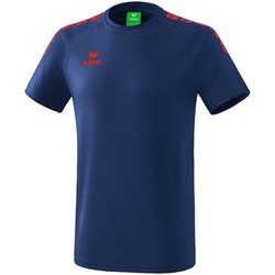 Kleidung Jungen T-Shirts Erima Sport Essential 5-C T-Shirt Kids Blau Rot 2081937 Other
