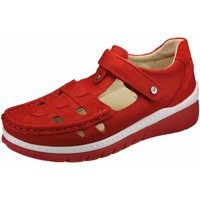 Schuhe Damen Derby-Schuhe Wolky Slipper Byte 0485411-570 rot