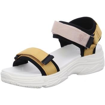 Schuhe Damen Sandalen / Sandaletten Camel Active Sandaletten Slope Sport Sandal 22108850/C254 0 gelb