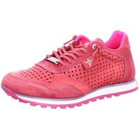 Schuhe Damen Sneaker Low Cetti 848-FUCSIA rot