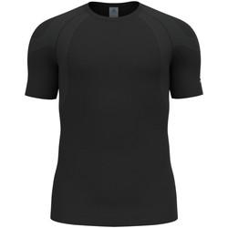 Kleidung Herren T-Shirts Odlo Sport T-shirt s/s crew neck ACTIVE S 313272 15000 schwarz