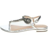 Schuhe Damen Sandalen / Sandaletten Menbur 22345 Silber