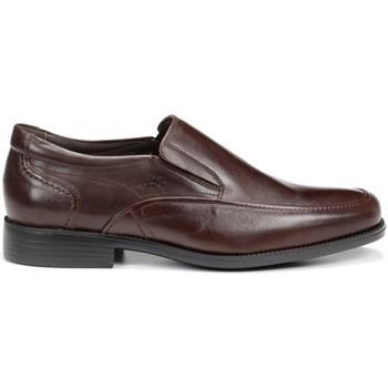 Schuhe Herren Slipper Fluchos 7996 MALLORCA RAFAEL MOCASIN MAN KAFFEE