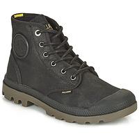 Schuhe Boots Palladium PAMPA CANVAS Schwarz