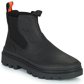 Schuhe Boots Palladium PALLATROOPER WATERPROOF Schwarz