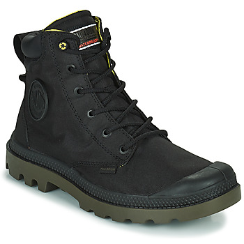 Schuhe Boots Palladium PAMPA RECYCLED Schwarz