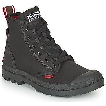 Schuhe Boots Palladium PAMPA METRO Schwarz