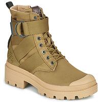 Schuhe Damen Boots Palladium PALLABASE TACT S TX Grün
