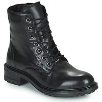 Schuhe Damen Boots San Marina CHAMAL Schwarz