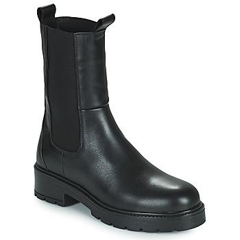 Schuhe Damen Boots San Marina FINLEY Schwarz