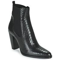 Schuhe Damen Boots San Marina ALENA Schwarz