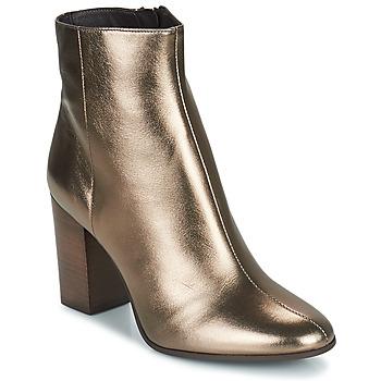 Schuhe Damen Low Boots San Marina ABELLE/MET Goldfarben
