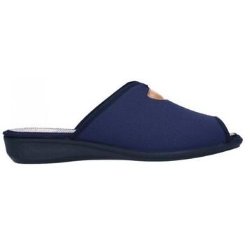Schuhe Damen Hausschuhe Calzamur 51119000 Janeiro 120 Mujer Azul bleu