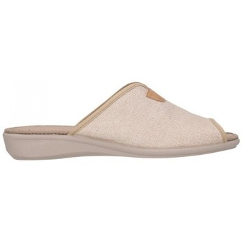 Schuhe Damen Hausschuhe Calzamur 51119000 Mabel A48 Mujer Beige beige
