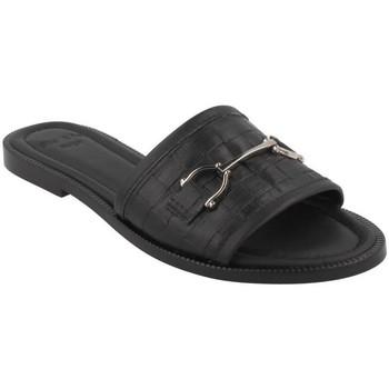 Schuhe Damen Pantoffel She - He  Negro