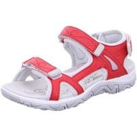 Schuhe Jungen Sportliche Sandalen Allrounder by Mephisto Schuhe LARISA P2006641 rot