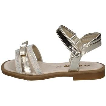Schuhe Mädchen Sandalen / Sandaletten Asso AG-11205 PLATIN