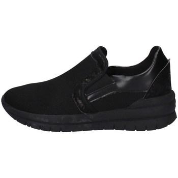 Schuhe Damen Slip on Davema S3726 SCHWARZ