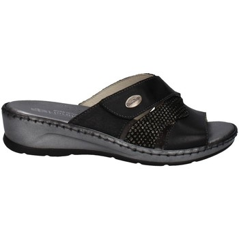 Schuhe Damen Pantoffel Florance 22625 SCHWARZ