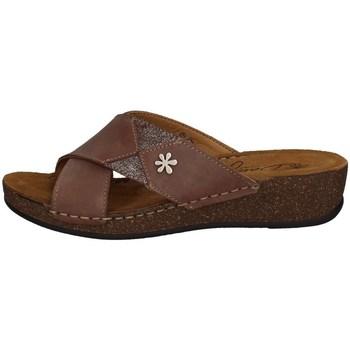 Schuhe Damen Pantoffel Florance 22132-1 PRALINEN