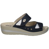 Schuhe Damen Pantoffel Robert 32828-2 BLAU