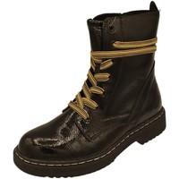 Schuhe Damen Low Boots Pep Step Stiefeletten 9023208,black 9023208 00001 schwarz