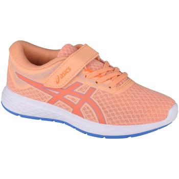 Schuhe Kinder Laufschuhe Asics Patriot 11 PS Orange