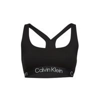 Unterwäsche Damen Sport-BH Calvin Klein Jeans UNLINED BRALETTE Schwarz