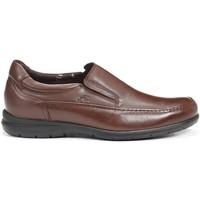 Schuhe Herren Slipper Fluchos 8499 LUCA AVE MOCCASIN MAN KASTANIE