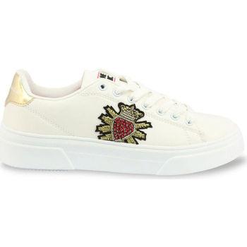 Schuhe Damen Sneaker Low Shone - 620-523 Weiss