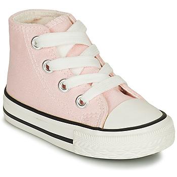 Schuhe Mädchen Sneaker High Citrouille et Compagnie NEW 19 Rose