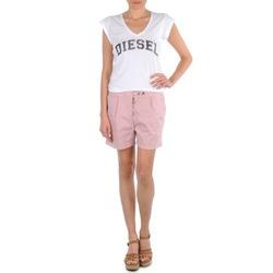 Kleidung Damen Shorts / Bermudas Diesel HANTU Rose