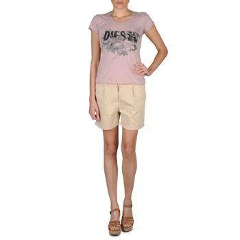 Kleidung Damen Shorts / Bermudas Diesel HANTU Beige