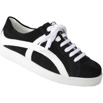 Schuhe Damen Sneaker Low Lei By Tessamino Damensneaker Nora Farbe: schwarz schwarz