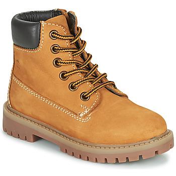 Schuhe Kinder Boots Citrouille et Compagnie PACITO Camel
