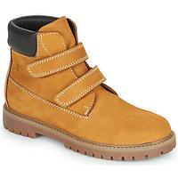 Schuhe Jungen Boots Citrouille et Compagnie PAXA Camel