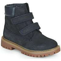 Schuhe Jungen Boots Citrouille et Compagnie PAXA Blau