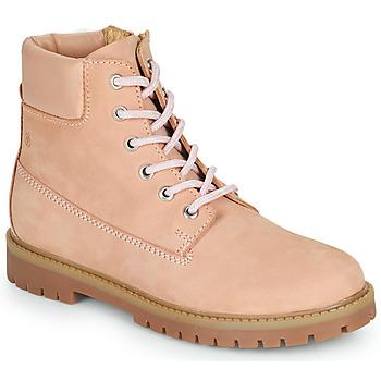 Schuhe Mädchen Boots Citrouille et Compagnie PACITO Rose